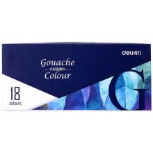 得力 73854-18 色水粉颜料 (单位:盒) 蓝
