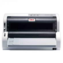 OKI 5200F+ 发票打印机 支票票据打印机快递单送货单连打针式打印机(支持82列24针平推打印)