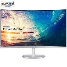 三星(SAMSUNG)C27F591FDC 27英寸1800R窄边框旗舰曲面液晶电脑显示器(内置音箱/HDMI/DP)