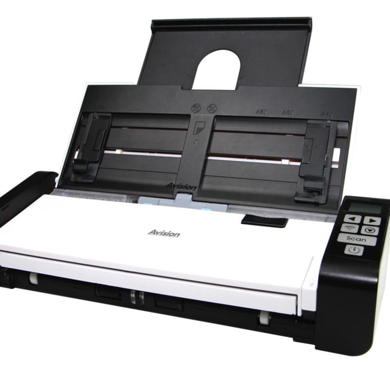 虹光AD215 便携式扫描仪 CIS A4 彩色48位;灰阶16位光学分辨率(dpi)600