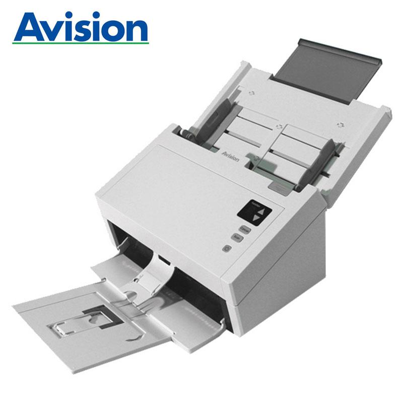 虹光(Avision)AW1204高速彩色双面A4幅面馈纸式文档扫描仪