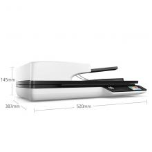 惠普( HP)ScanJet Pro 4500FN1 平板+馈纸式扫描仪 网络