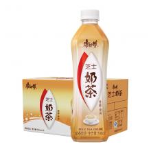 康师傅 奶茶饮料 芝士味500ml*15瓶 整箱装