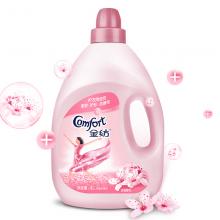 金纺 衣物柔顺剂 护理剂 柔软护型防静电 淡雅樱花香味4L