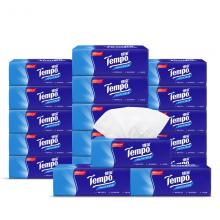 得宝(Tempo) 抽纸 4层90抽*18包纸巾 天然无香(整箱销售)