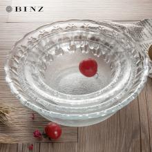 玻璃碗可爱家用欧式简约小号碗水果沙拉碗甜品碗