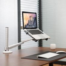 埃普(UP)OA-1S笔记本平板电脑支架苹果ipadair桌面懒人支架15.
