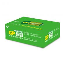 超霸(GP)1号大号碳性电池干电池20粒装 适用于燃气灶/燃气热水器/手电筒等 R20P