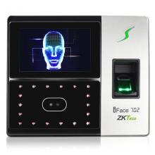 中控智慧(ZKTeco) iFace702人脸指纹考勤机 含模块+电源适配器