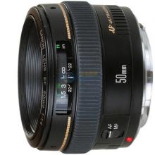 佳能(Canon)EF 50mm f/1.4 USM 单反镜头 标准定焦镜头