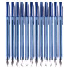 晨光(M&G)文具0.7mm蓝色简约办公圆珠笔 子弹头原子笔便携中油笔40支/盒ABP64701