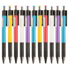 晨光(M&G)0.7mm蓝色经典按动圆珠笔 办公子弹头原子笔便携中油笔40支/盒ABP88402