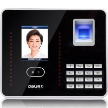得力(deli)人脸考勤机签到一体机打卡机指纹人脸识别员工上下班混合刷脸面部识别考勤机3969Z