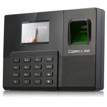 齐心/Comix OP218考勤机 员工上下班打卡机彩屏大容量指纹签到机OP218(黑色)