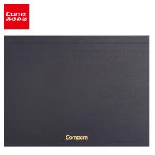 齐心(Comix) A4/80张方格本笔记本子/拍纸本/草稿纸/绘图本黑C8208