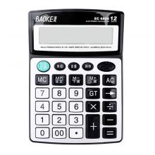 宝克(BAOKE)EC6804 12位大屏幕语音计算机桌面通用办公语音计算器
