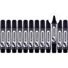 宝克(BAOKE)MP3901 可加墨大容量白板笔可擦易擦大字黑色12支装