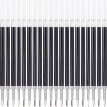 宝克(BAOKE) PS2010 0.7mm黑色中性笔笔芯商务签字笔水笔替芯(适用于U系列)20支装