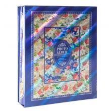 广博(GuangBo)大6寸相册仿华夫插袋纪念册影集蓝色200张 PAF1130