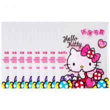 广博(GuangBo) 透明书套书皮 (4张/包) 学生用品 8包16K凯蒂猫KT86138