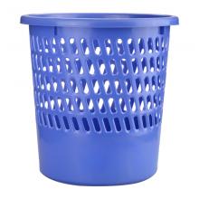 富得快(Fudek)办公室垃圾桶家用厨房卫生间客厅塑料垃圾篓大号垃圾筒分类纸篓办公用品蓝色L7820