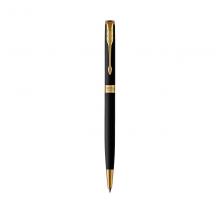派克(PARKER)卓尔系列 磨砂黑杆金夹圆珠笔/原子笔-纤巧