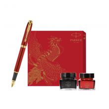 派克(PARKER) 系列 IM活力之红钢笔/墨水笔+凤凰