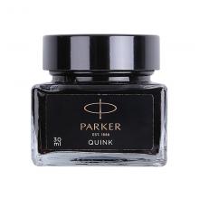 派克(PARKER)配件系列 钢笔墨水黑色迷你30ml