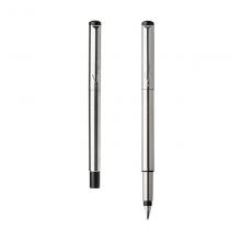 派克(PARKER)威雅系列 钢杆白夹钢笔/墨水笔