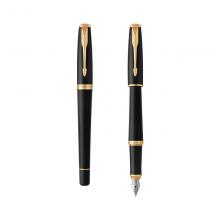 派克(PARKER)都市系列 磨砂黑金夹钢笔/墨水笔