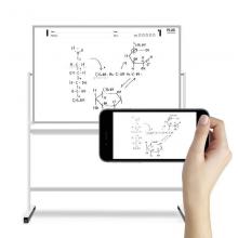 普乐士 PLUS  白板支架式写字黑板白板架拍下我智能写字板白板可移动SWB-1809SS尺寸1800*900mm