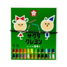 樱花(SAKURA)软蜡笔儿童绘画美术 24色套装 LY24R 儿童用
