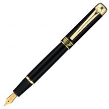 英雄(HERO)黑色铱金钢笔美工笔明尖 9018