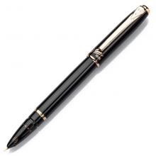 英雄(HERO)黑色雅悦财会特细0.38mm暗尖铱金钢笔办公书写签字笔1079