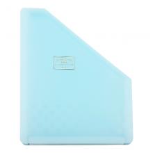 国誉(KOKUYO)淡彩曲奇学生办公可立式风琴包多层文件夹/收纳袋A4竖款12层13袋蓝色WSG-DFCS135B