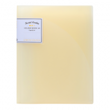 国誉(KOKUYO)淡彩曲奇文件保护套4袋 A4 310*243*3mm 黄色2个装WSG-HBCN40Y