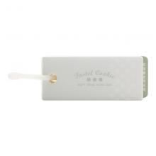 国誉(KOKUYO)淡彩曲奇软线圈单词卡 PVC封面便携空白本子迷你口袋单词本透明中号1本装WSG-TGSC01T