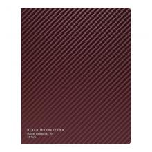 国誉(KOKUYO)都市印象·活页本笔记本记事本225×181×24mm深红A5/40页8mm*21行1本装WSG-RUUP12DR