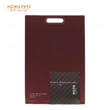 国誉(KOKUYO)都市印象竖款风琴包多层文件夹收纳袋 A45层6袋深红1个装WSG-DFU65DR