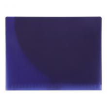 国誉(KOKUYO)Campus学生办公文件收纳袋资料册双袋瘦身活页夹B5-S/26孔紫色1个装RU-AP711V