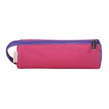 国誉(KOKUYO)C2-R便携圆筒式收纳笔筒笔袋学生文具盒190*70mm粉色中号WSG-PC62-P