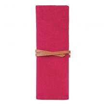 国誉(KOKUYO)文具手工制笔袋 可收纳约6支笔红200*75*10mmTPC0003-R1个装