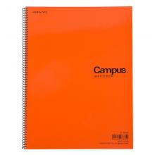 国誉(KOKUYO)E-100N Campus螺旋装订素描本357*252mmB4/22页学生用橙
