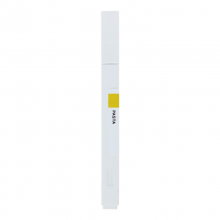 国誉(KOKUYO)PASTA固体水性马克笔荧光笔标记笔深黄1支装KE-SP15-YL2