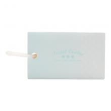国誉(KOKUYO)淡彩曲奇软线圈单词卡 PVC封面便携空白本子迷你口袋单词本蓝色大号1本装WSG-TGSC02B