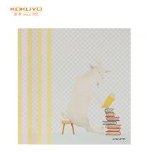国誉(KOKUYO)设计本无线装订本软抄本记事本子笔记本A5/40页喜欢的物·重要的事4本装WCN-DNA54-J65