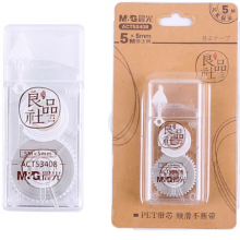 晨光(M&G)文具5m*5mm/PET带芯修正带 办公学习便携涂改带 良品社系列改正带 单支装