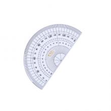 晨光(M&G)文具办公学习考试绘图测量套尺 元气米菲系列(直尺+三角尺*2+量角器)组合装 4件套颜色随机
