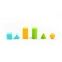 晨光(M&G)文具立方体教具套装 小办公学习几何体正方体立方体套装 图形认识数学教具