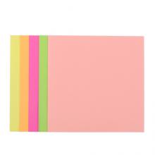 晨光(M&G)文具48K/5色经典荧光手工折纸 办公学习剪纸diy创作彩纸 米菲系列卡纸叠纸材料 40页/包